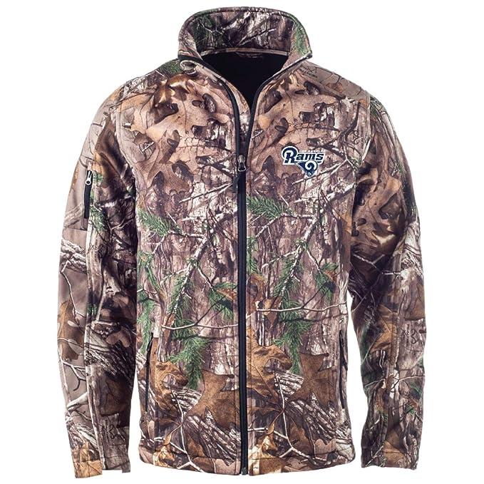 check out 9618f 5cd1b Dunbrooke Apparel NFL Huntsman Realtree Xtra Camoflauge Softshell Jacket