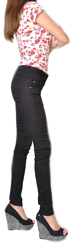Damen Jeans Hose  Röhrenhose Röhre  Röhrenjeans Skinny Stretch 636