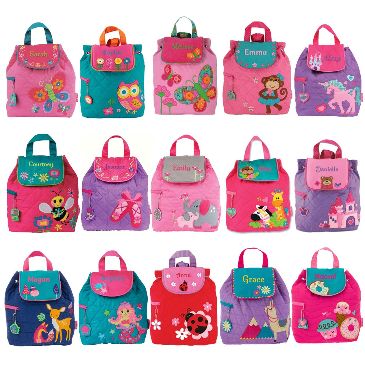 Personalised Children s Girls Backpacks  f21f403c38c88