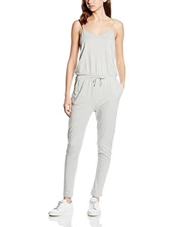 ICHI Damen Relaxed Jumpsuits KLARI JS, Gr. 36 (Herstellergröße: S), Grün (Puritan  Gray 14020): Amazon.de: Bekleidung