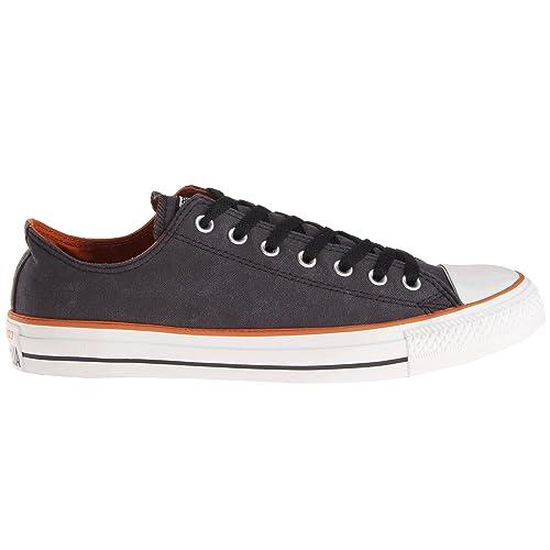 687ac42effaa Converse Chuck Tylor All Star Ox Vintage Men (6 D(M) US) Wash Black   Amazon.ca  Shoes   Handbags