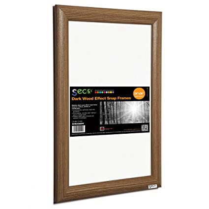 Amazoncom SECO Front Load Easy Open Snap Frame PosterPicture - Alpina snap frames