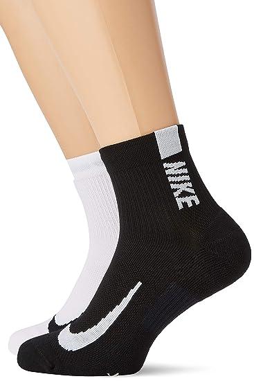 9a5e8c0839878 Amazon.com : Nike Unisex Multiplier Running Ankle Socks (2 Pair ...