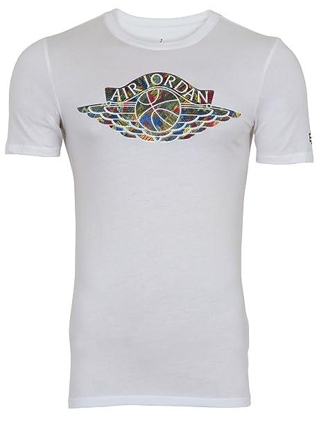 2e4aa709 Amazon.com: NIKE Air Jordan BHM Black History Month T-Shirt (L ...