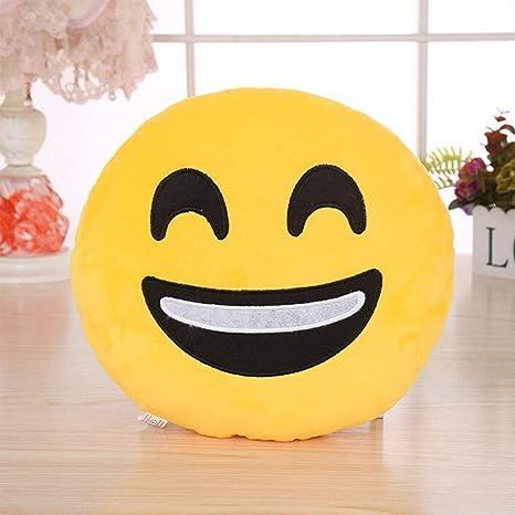 Buy Balaji Fab Happy Face Emoji Smiley Emoticon Cushion Pillow