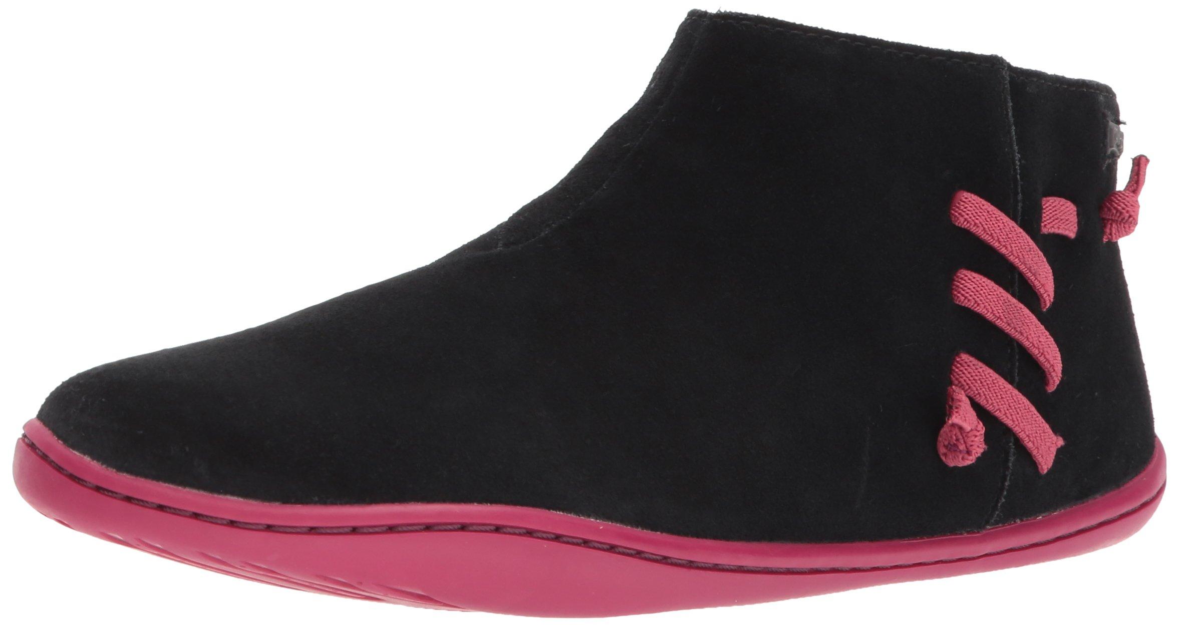 Camper Kids Girls' Peu Cami Ankle Boot, Black, 33 D EU Little Kid (2 US)