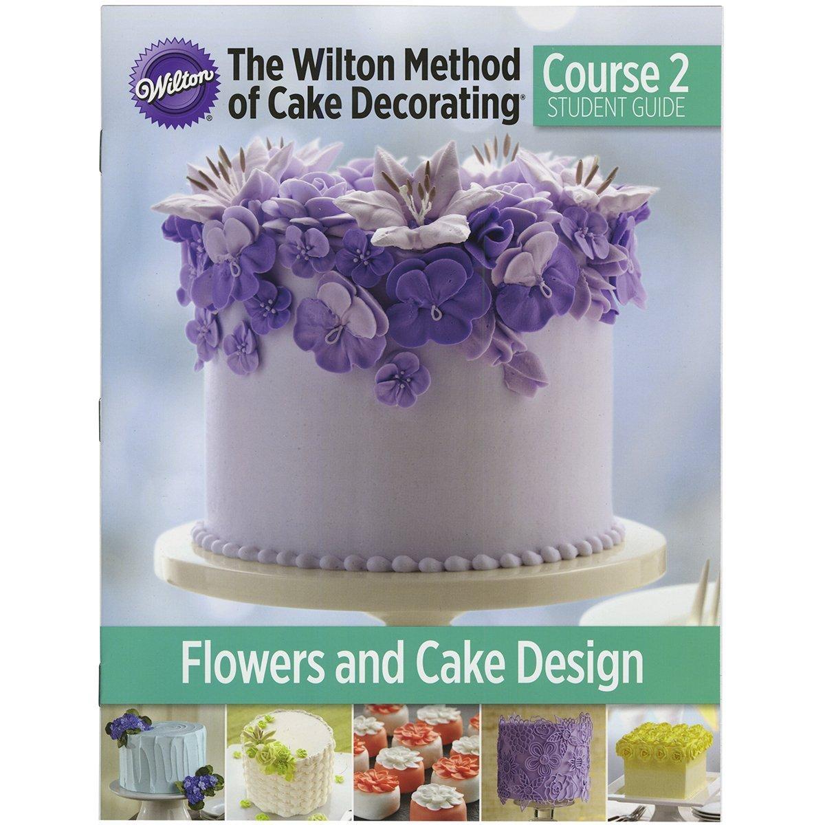amazon com the wilton method of cake decorating course 1 student amazon com the wilton method of cake decorating course 1 student guide english kitchen dining
