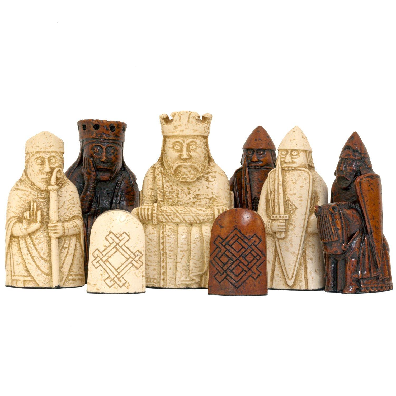 The Isle Of Lewis Chessmen The Official Set: Amazon: Toys & Games