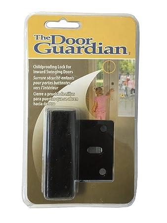 Door Guardian Childproof Deadbolt for Inward Swinging Doors - Black Finish  sc 1 st  Amazon.com & Door Guardian Childproof Deadbolt for Inward Swinging Doors - Black ...