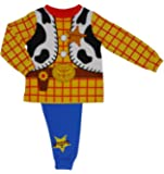 Disney Toy Story Woody Novelty Pyjamas - Ages 18 Months To 6 Years