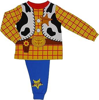 Neuf Garçons Coton Toy Story Pyjama Lot 1-5 ans