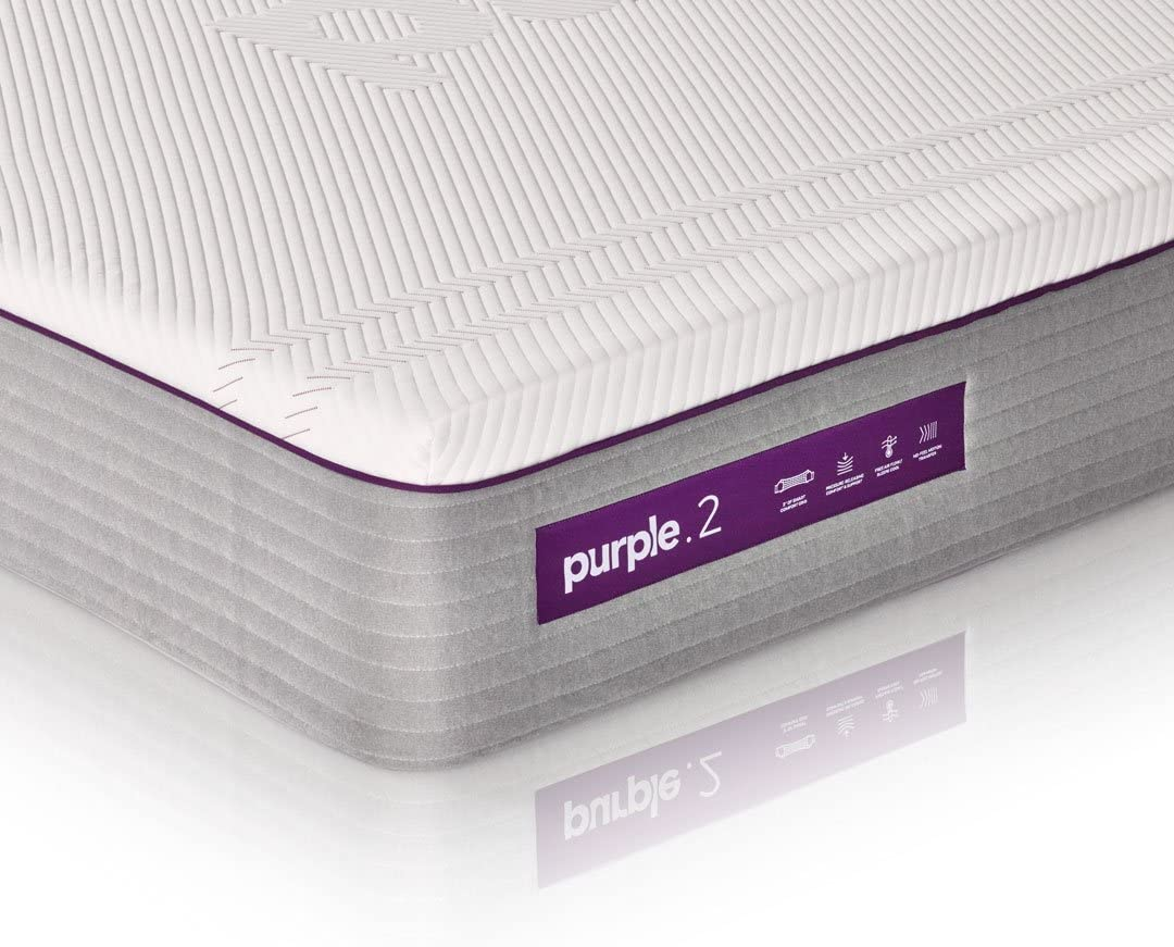 """The New Purple Mattress, with Soft 2"""" Smart Comfort Grid Pad and Cooling Comfort-Stretch Cover (Queen) natural sleep aids - 71g2L1iHoLL - Natural sleep aids – the best supplements to end sleepless nights"""