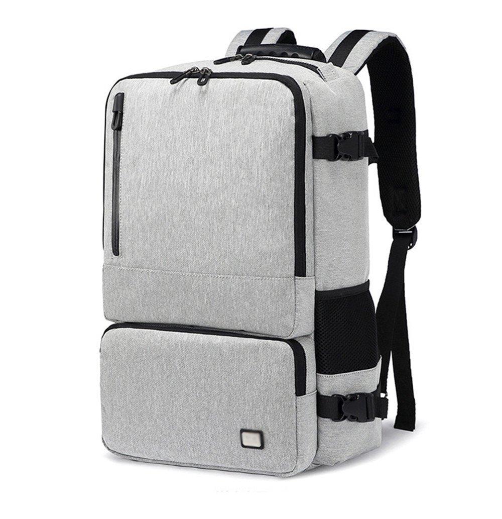 DESESHENME Multifunktions Männer 15,6 Zoll Laptop Rucksäcke für Teenager Mode männlich Freizeit Reisen Rucksack