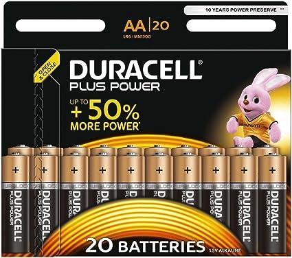 Duracell Plus Power Alkaline Batterien Aa 20er Pack Elektronik
