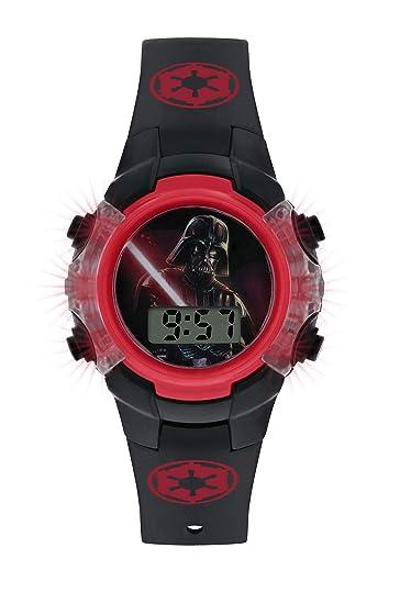 Star Wars Reloj Niños de Digital con Correa en PU DAR4225: Amazon.es: Relojes
