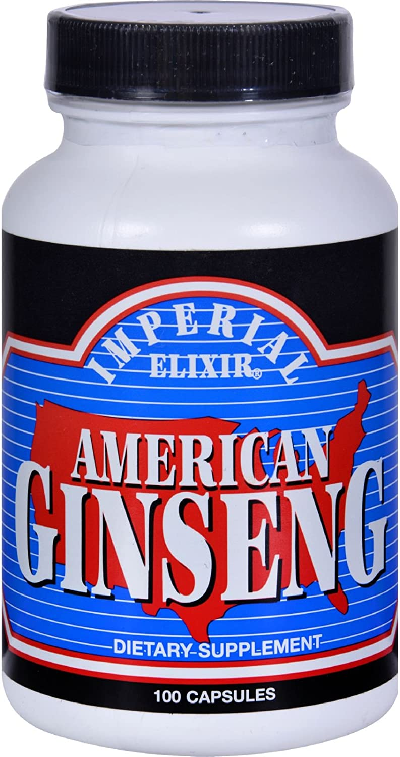 American Ginseng Imperial Elixir (Ginseng Company) 100 Caps