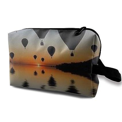 Bolsas de cosméticos de viaje Globos de aire caliente Bolsa ...