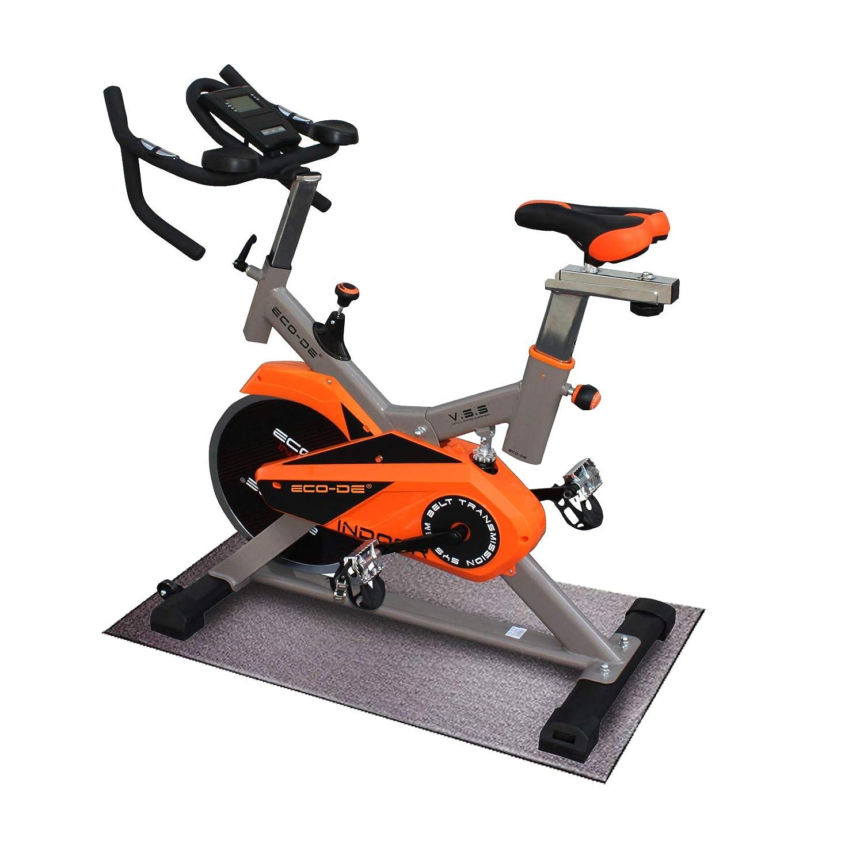 ECO-DE Spinning-Fahrrad Indoor, Sattel & Lenker regulierbar, Virtual System Suspension