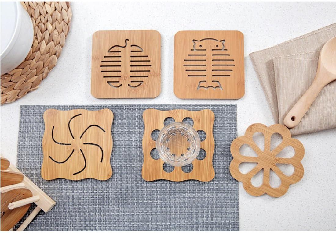 Holz Untersetzer Bambus Tischplatte Schutz schützen Ihre Möbel vor