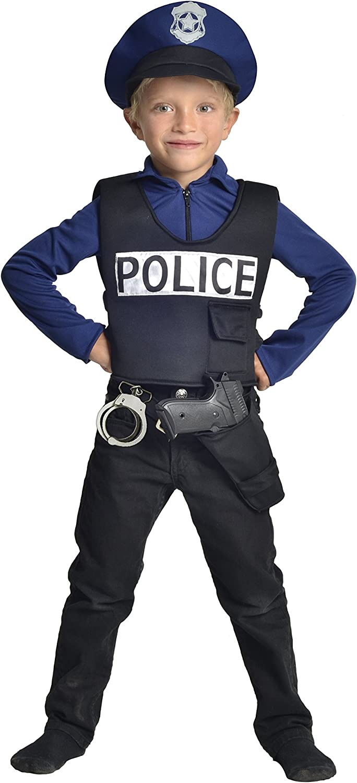 Cesar-Disfraz de policía F586-5/7 años