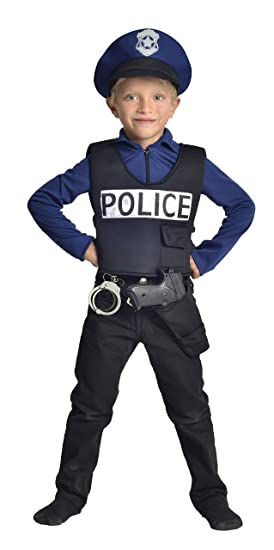 Cesar-Disfraz de policía F586-5/7 años: Amazon.es: Juguetes y juegos