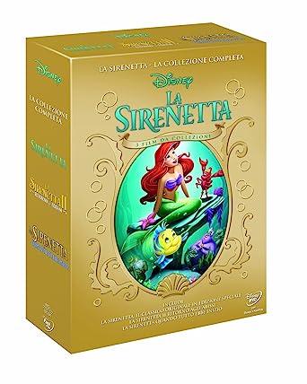 La sirenetta - La collezione completa [Italia] [DVD]: Amazon ...