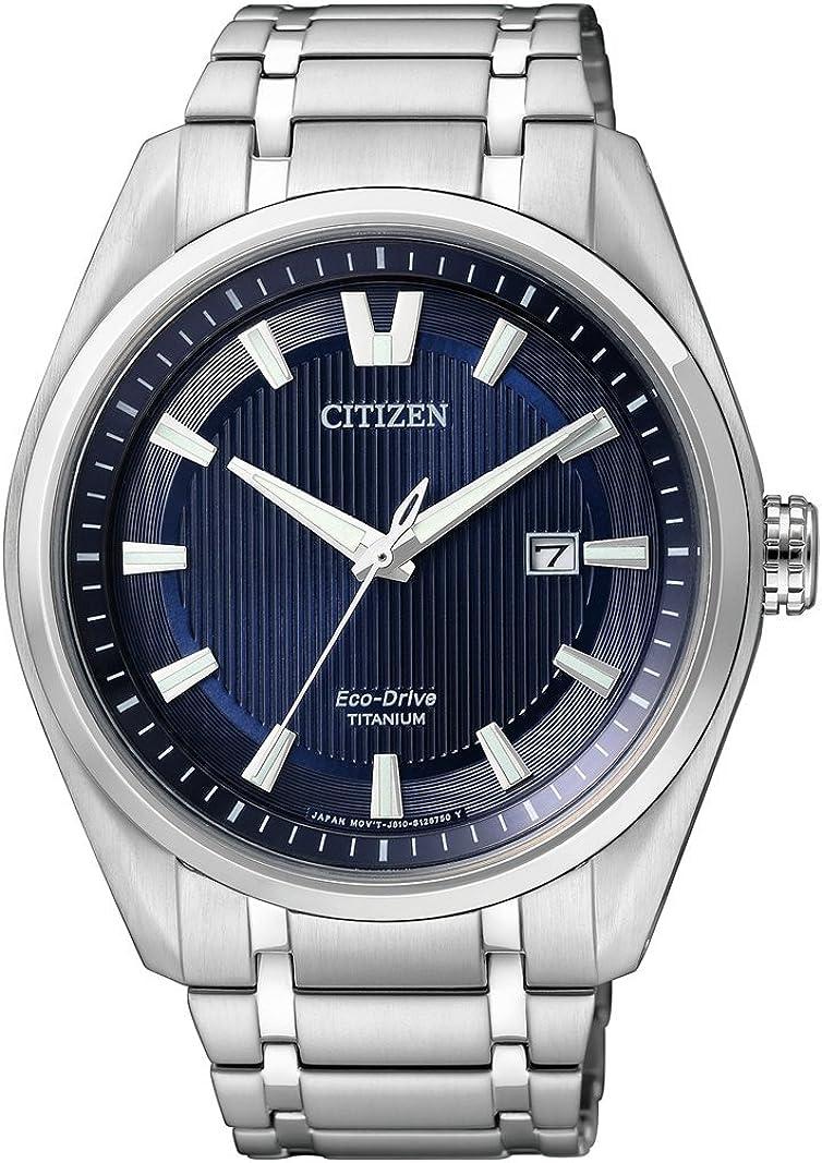 Citizen 32003249 - Reloj analógico de Cuarzo para Hombre con Eco-Drive Titan