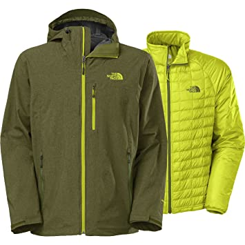 The North Face M Thermoball Triclimate Jacket - Chaqueta para Hombre, Color Verde, Talla L: Amazon.es: Deportes y aire libre