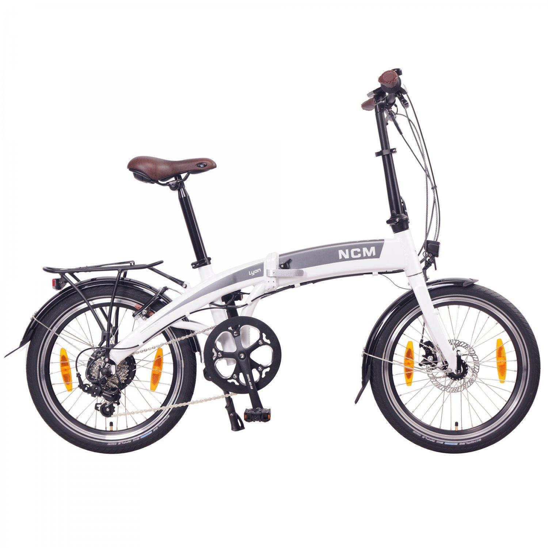 NCM lyon bike bicicleta eléctrica plegable