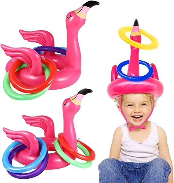 Flamingo Ring Toss Game