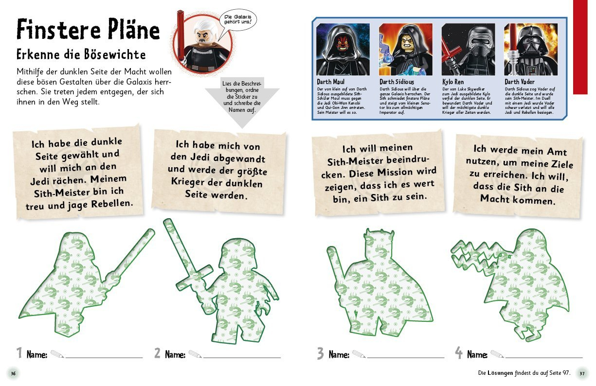 Das Mach-Malbuch LEGO® Star Wars™: Amazon.de: Bücher