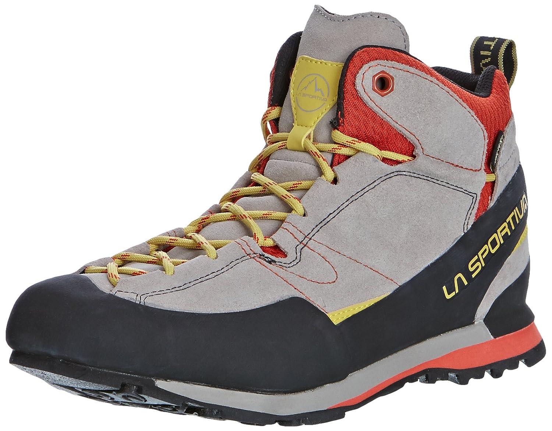 La Sportiva Unisex-Erwachsene Boulder Boulder Boulder X Mid grau rot Trekking-& Wanderhalbschuhe ffb1a8