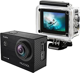 4K Action Camera MGCOOL Explorer-1S, Sports Camera Wifi 20MP Ultra HD 100ft Underwater Waterpoof Wide Lens Angle in 170° Camcorder Wifi Great for Indoor and Outdoor Activities