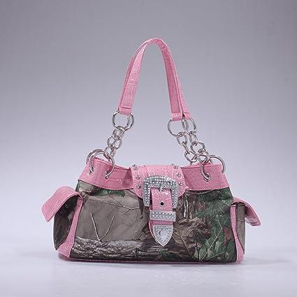 Amazon.com  Licensed Realtree Camouflage Western Handbag Buckle ... a54a164ca1e8f