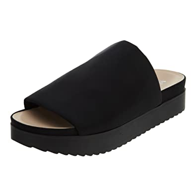 258ba1eac48 Wanted Shoes Women s Gelato Platform Sandal Black 5.5 B(M) US  Buy Online  at Low Prices in India - Amazon.in