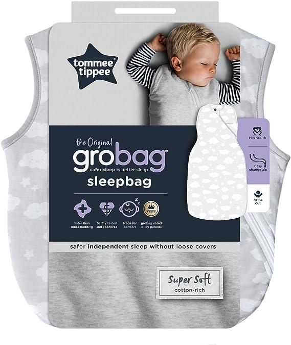 18-36 meses 24 g Tommee Tippee The Original Grobag 1 tog Saco de dormir para beb/é