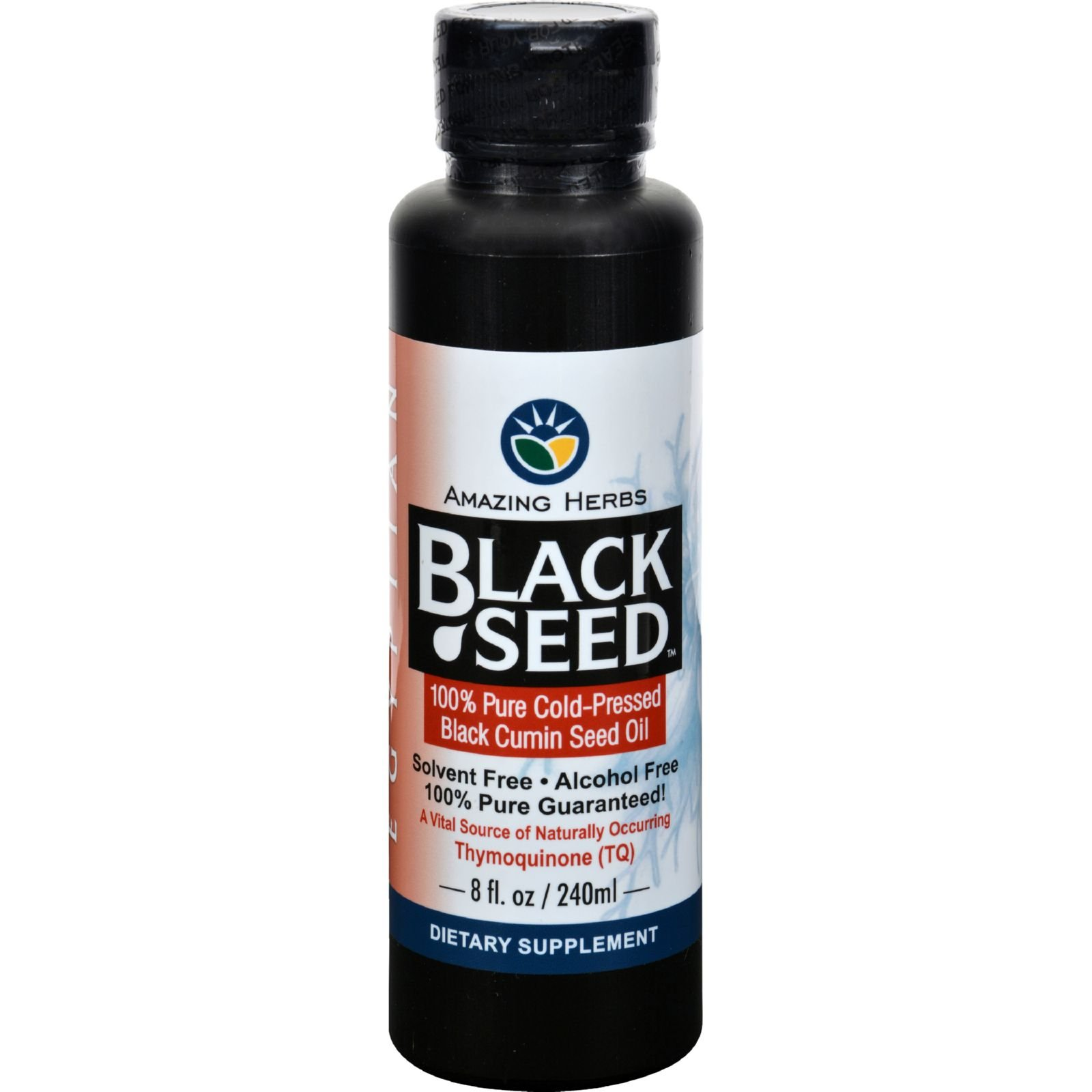 Amazing Herbs - Egyptian Black Seed Cold-Pressed Oil - 8 oz. by Amazing Herbs