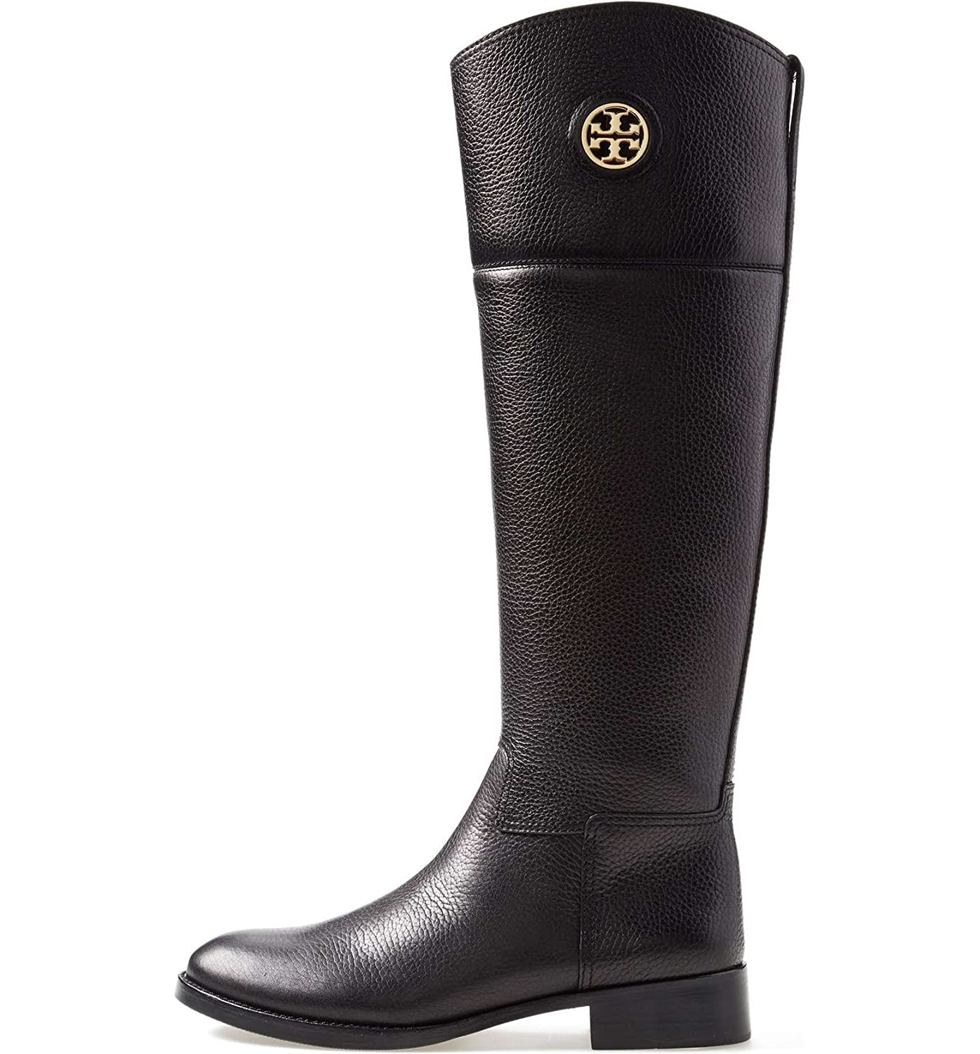 2b57c83e7d2 Amazon.com   Tory Burch Tumbled Leather Junction Riding Boots (5 ...