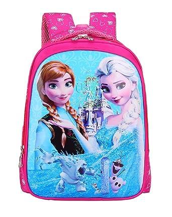 ... famous brand 7d705 cde00 Kids Girls Boys Childrens Backpacks School  Book Bags Rucksacks (Frozen) ... 28f0793772
