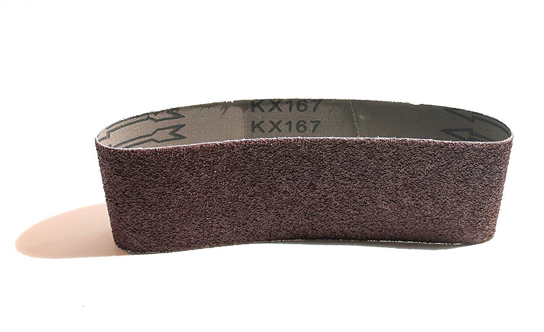 grain 120/pour Ponceuse /à bande pour bandes abrasives de Handel Band habituel Pon/çeuse 10/x bandes abrasives 75/x 533/mm