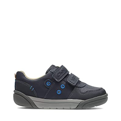 96676bb3ab85 Clarks LilfolkPop Infant Boys Navy Casual Shoes  Amazon.co.uk  Shoes ...