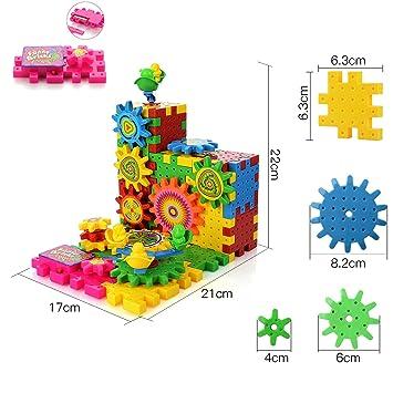 Toys & Hobbies Wooden Blocks Wooden Gearwheel Building Block Toys For Children Interactive Creative Toy Gift For Children Preschool Kids