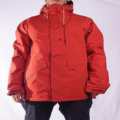 L1 Outerwear Command Chaquetas Snowboard, Hombre, Rojo, L: Amazon.es: Deportes y aire libre