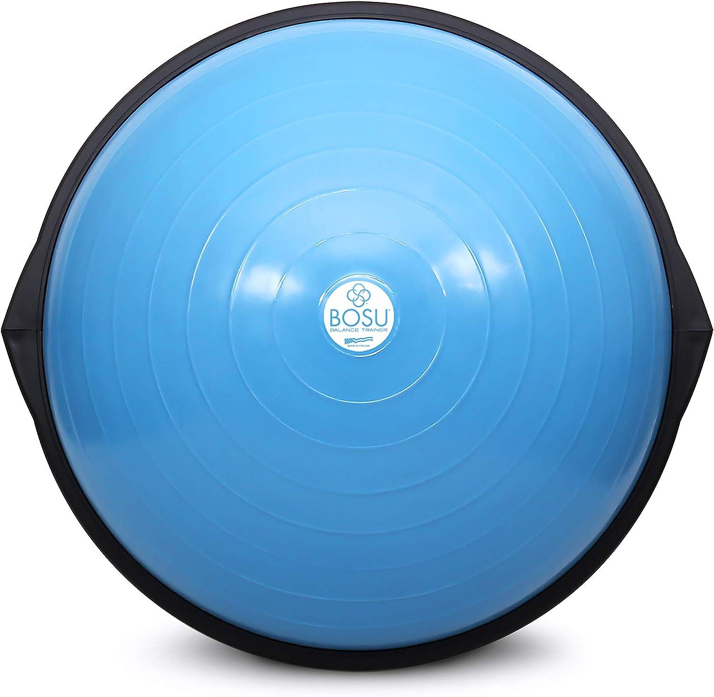 Amazon Com Bosu Balance Trainer 65cm Blue Exercise Equipment Sports Outdoors
