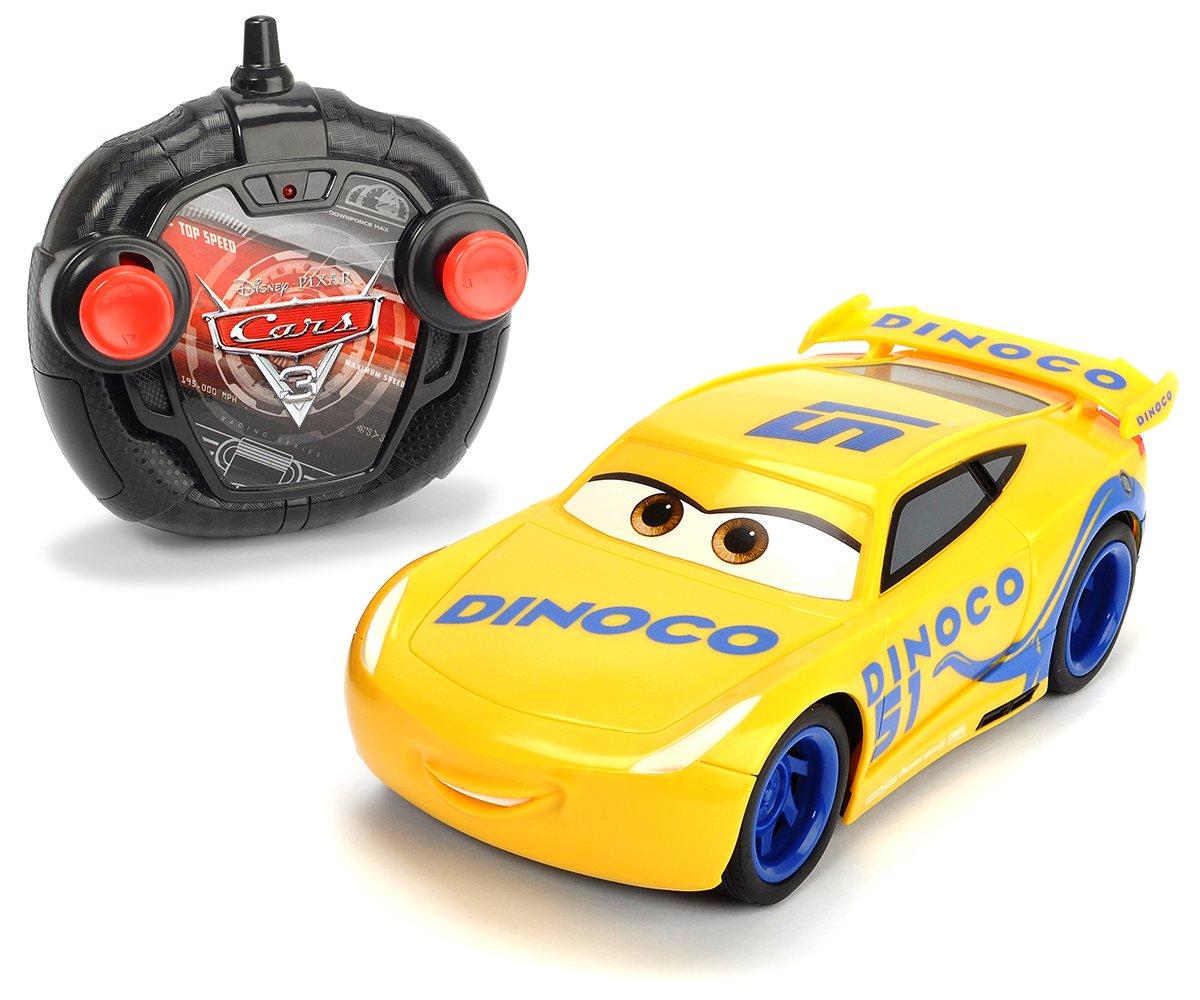 Dickie Toys 203084004 - 'Cars 3 Turbo Racer Cruz Ramirez', RC Fahrzeug, ferngesteuertes Auto, 1:24, 17cm Dickie Toys 203084004 - Cars 3 Turbo Racer Cruz Ramirez Dickie Spielzeug 203084004S02