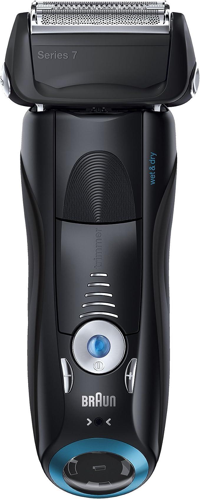 Braun Series 7 740s-7 - Afeitadora eléctrica con tecnología Wet & Dry, color negro: Amazon.es: Salud y cuidado personal