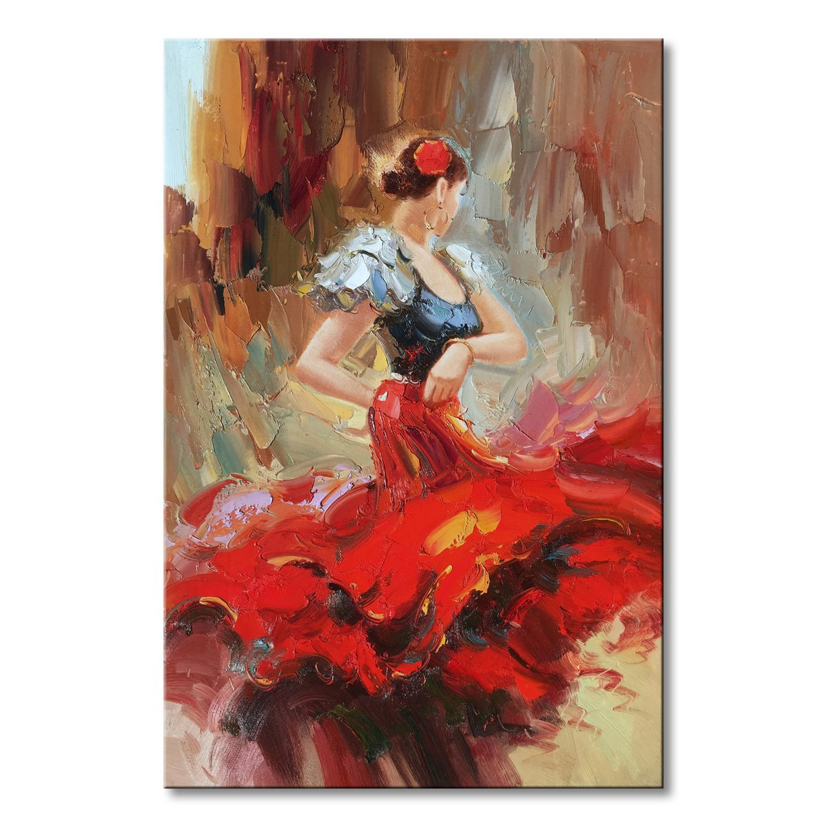 Dancer Wall Art Abstract