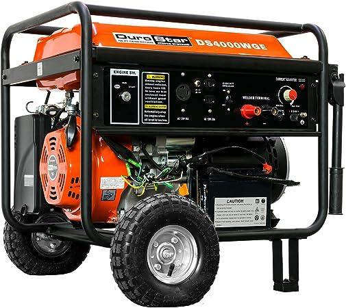 Amazon.com: Generador portátil a gasolina DuroStar ...