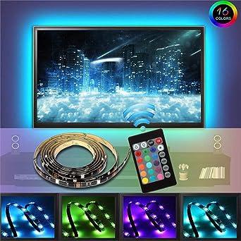 LED TV Fondo TV RGB 5050 LED Strip con mando a distancia 40 – 60 ...