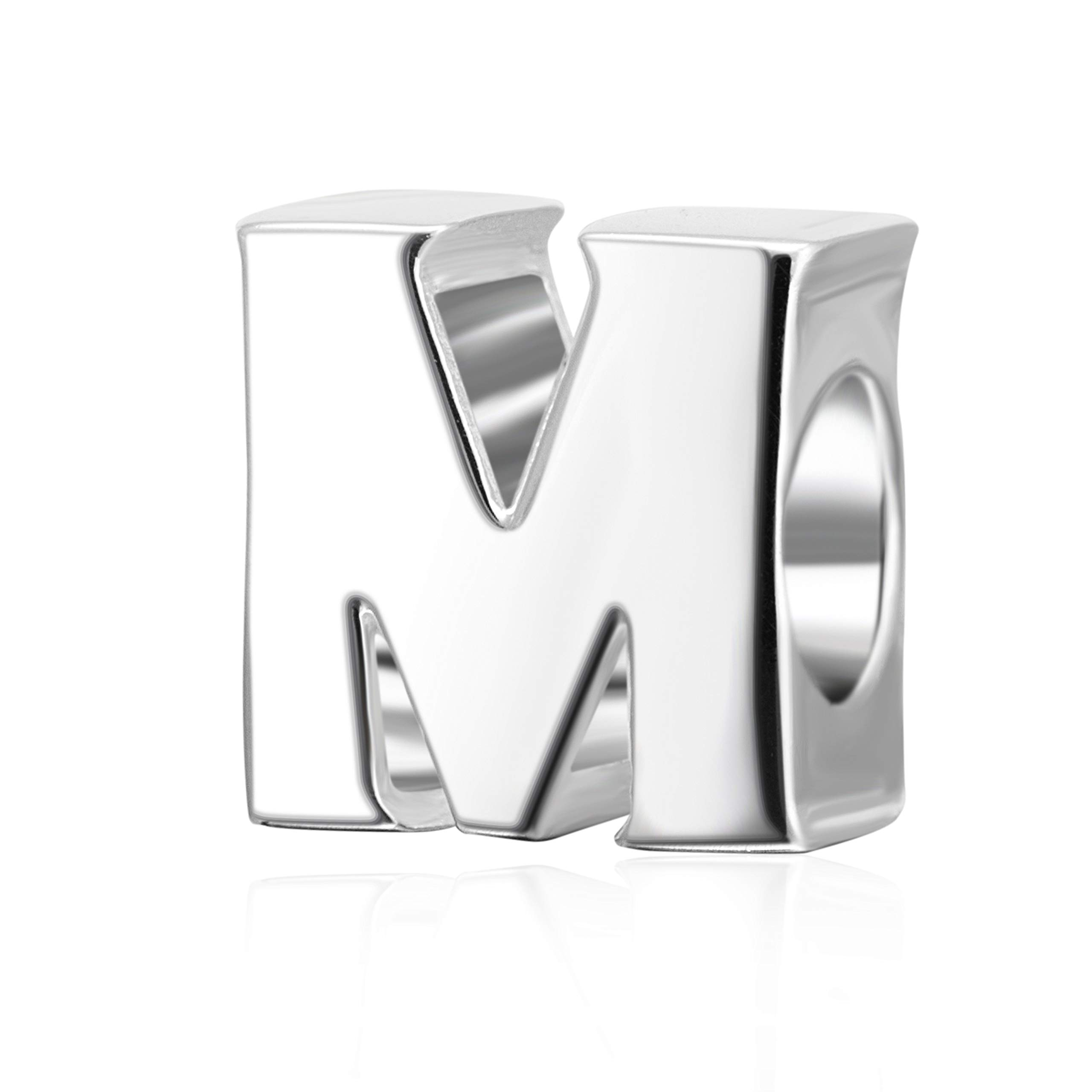 Alphabet-Charms-Authentic-925-Sterling-Silver-Letter-Initial-A-z-Alphabet-Beads-for-Christmas-Mothers-Gifts